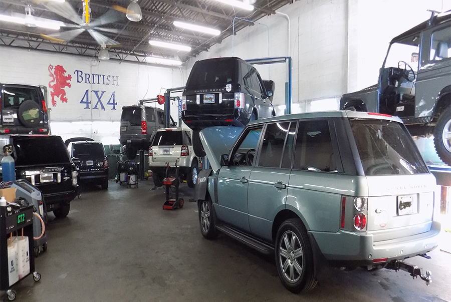 British X Land Rover ONLY Service Repair - Range rover repair shop